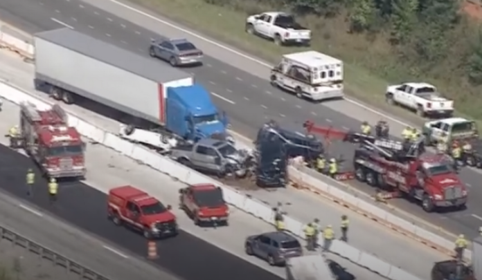 'Death trap.' Trucker, others being sued after 3 die in 7-car pileup on SC interstate