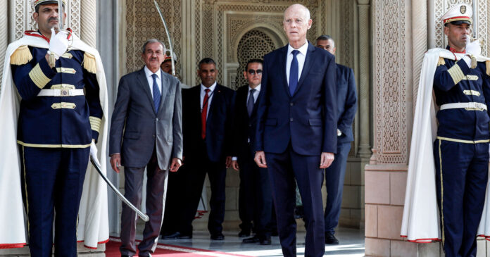 As Tunisia's President Cements One-Man Rule, Opposition Grows