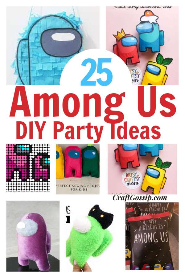 DIY Among Us Birthday Party Ideas With Free Printable – Party Ideas