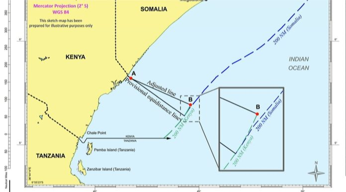 UN court sides with Somalia inocean boundary row with Kenya