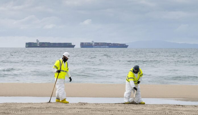 What's happening with the California oil spill?